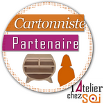 Macaron Liste Cartonnistes Partenaires